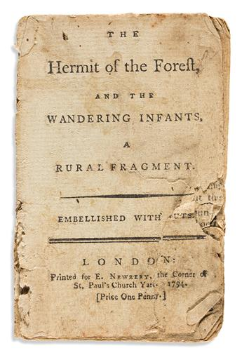 Childrens Chapbooks, Two 18th Century English Examples.