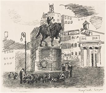 RAPHAEL SOYER (1899-1987) Union Square.