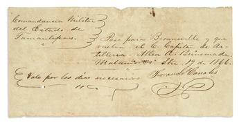 (CIVIL-WAR--CONFEDERATE)-Pair-of-documents-of-an-exiled-Conf