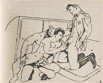 (GAY ZINES 1960s) Homemade gay erotic booklet.