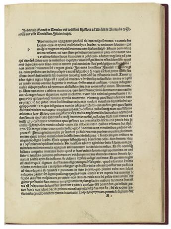 INCUNABULA--BOCCACCIO-GIOVANNI--De-claris-mulieribus--1487