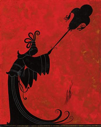 (THEATER.) ERTÉ. [ROMAIN DE TIRTOFF.] Les Porteuses dEventail * Les Danses dHonneur.