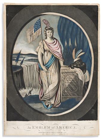(ALLEGORIES.) An Emblem of America / An Emblem of Europe / An Emblem of Asia / An Emblem of Africa.