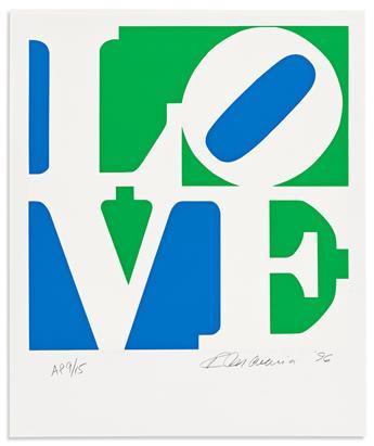 INDIANA, ROBERT. The Book of Love: A Portfolio of 12 Original Poems & 12 Original Prints.