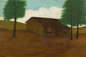 EMILE BRANCHARD (1881-1938) The Old Barn.