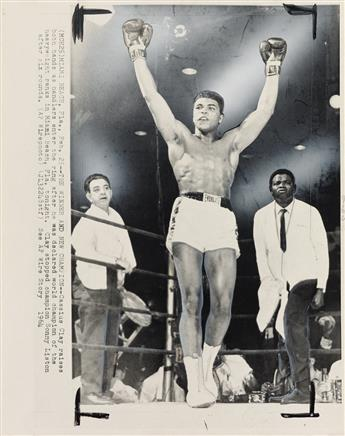 (CASSIUS-CLAYMUHAMMAD-ALI)-Group-of-11-photographs-depicting