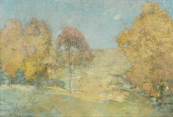 EMIL CARLSEN Autumn Morning--Fading Moon.