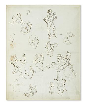 CRUIKSHANK-GEORGE-Over-200-drawings-in-ink-or-pencil-6-Signe