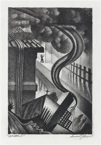 SAMUEL J. BROWN (1907 - 1994) Abstract.