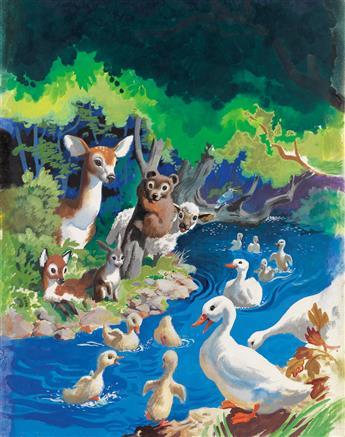 JOHN PIKE. Happy Animal Families.
