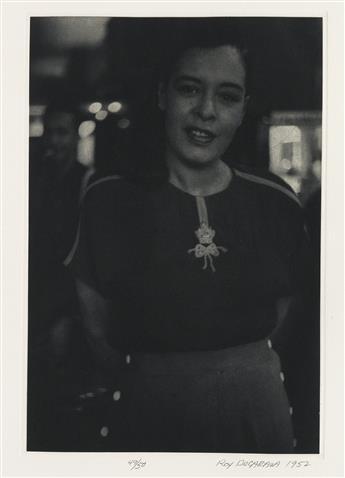ROY DECARAVA (1919-2009) Portfolio entitled Roy DeCarava.