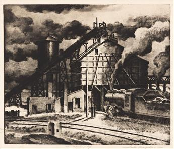 SAMUEL MARGOLIES (1897-1974) Coaling Up.