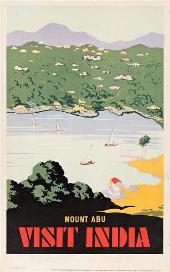 Designer-Unknown--MOUNT-ABU--VISIT-INDIA-Circa-1950s