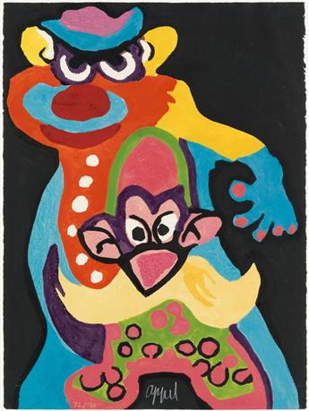 KAREL APPEL Circus.