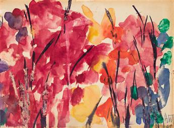 ALMA W. THOMAS (1891 - 1978) Untitled (Garden Composition).