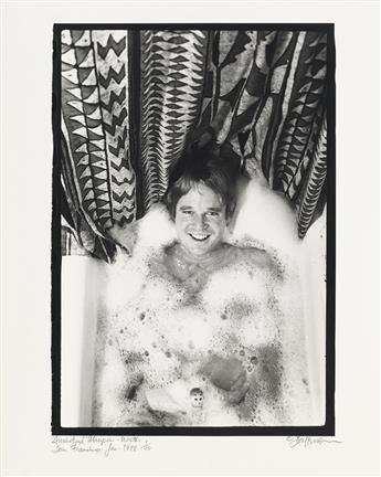 DON HERRON (1941-2012)  Suite of 11 photographs from Tub Shots.