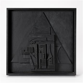 LOUISE NEVELSON The Louise Nevelson Sculpture for the American Book Award.