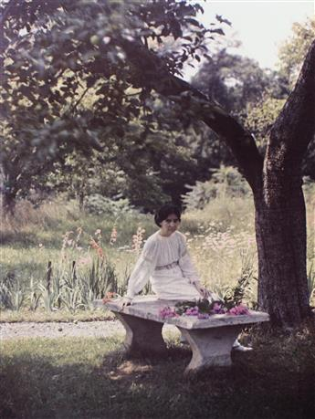 KARL STRUSS (1886-1981) A portfolio entitled The Dawn of Color.