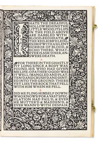 (KELMSCOTT PRESS.) Tennyson, Alfred, Lord. Maud, a Monodrama.