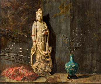 HOVSEP PUSHMAN Still Life with Bodhisattva.