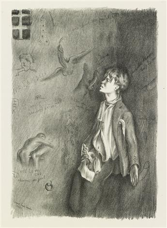 [JEAN GENET (1910-1986) and ROLAND CAILLAUX (1905-1977)]  Vingt Lithographies pour un Livre que Jai Lu.