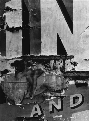 AARON SISKIND (1903-1991) A suite of 10 abstract expressionist photographs.