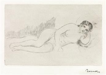 PIERRE-AUGUSTE-RENOIR-Femme-nue-couchée-(tournée-à-droite)-1