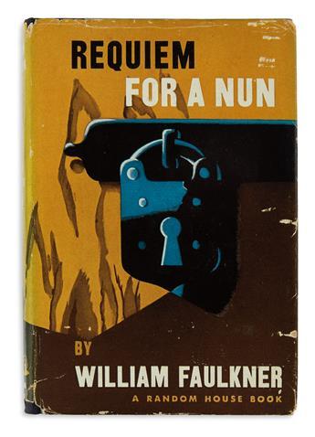 FAULKNER, WILLIAM. Requiem For A Nun.