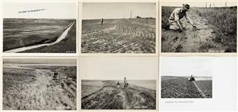 (UNITED STATES DEPARTMENT OF AGRICULTURE) A vast archive from the Soil Conservation Service, Oklahoma, with more than 600 photographs.