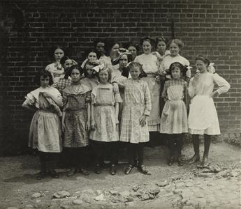 LEWIS-W-HINE-(1874-1940)-A-group-of-4-photographs-depicting-