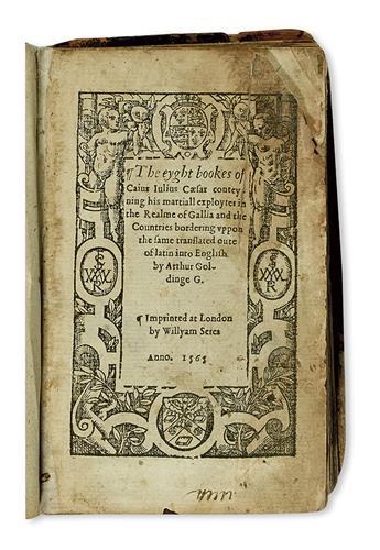 CAESAR-CAIUS-JULIUS-The-eyght-books----conteyning-his-martia