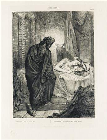 THÉODORE-CHASSÉRIAU-Othello