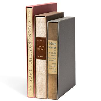 (LIMITED EDITIONS CLUB.) Group of 3 volumes.