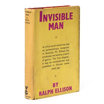 ELLISON, RALPH. Invisible Man.
