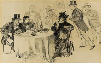 """CHARLES DANA GIBSON. """"And you believed the guides."""