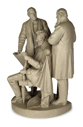 (SCULPTURE)-[Rogers-John;-sculptor]-The-Council-of-War