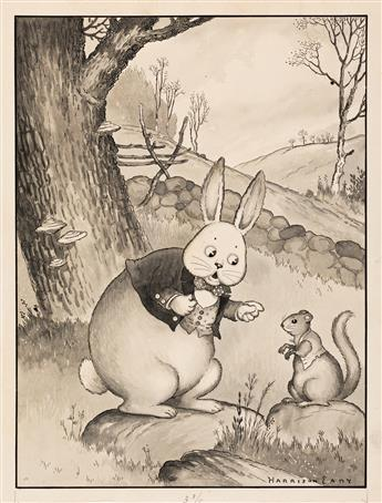 """HARRISON CADY (1877-1970) """"`Have you found a new home yet?' asked Peter."""" [CHILDRENS]"""