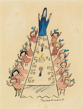 (CHILDRENS BOOKS) LUDWIG BEMELMANS. And here were back - all twelve no less - Happy New Year and Togetherness!