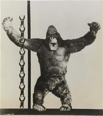 (MOVIES--KING-KONG)-A-group-of-approximately-110-film-stills