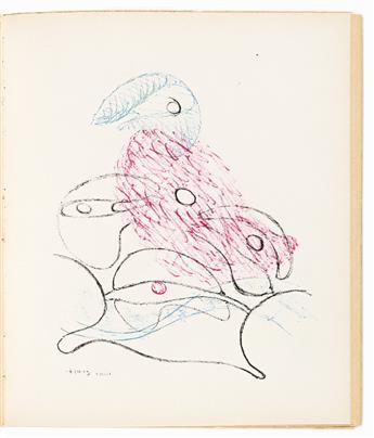 ANDRÉ BRETON (1896-1966) & MARCEL DUCHAMP (1887-1968) Le Surréalisme en 1947.