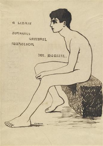 FREDERICK WILLIAM ROLFE Baron Corvo. (1860-1913)  In His Own Image.