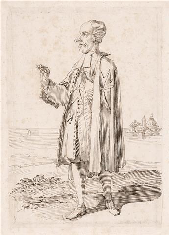 PIER-LEONE-GHEZZI-(Rome-1674-1755-Rome)-Two-pen-and-ink-cari