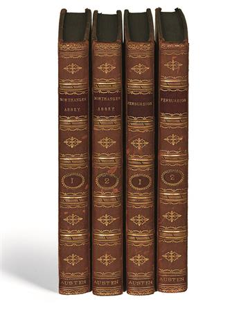 AUSTEN, JANE. Northanger Abbey and Persuasion. With a Biographical Notice of the Author.