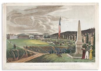 (COMMERCE & EXPANSION.) Hill, engraver; after George Catlin. To the Cadets of the West Point Military Academy.