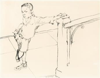 TOM FEELINGS (1933 - 2003) Untitled (Young Boy).