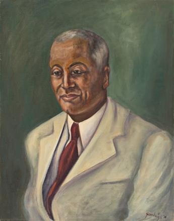 REX GORELEIGH (1902 - 1986) Alain Locke.