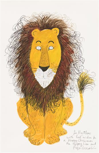 ROGER DUVOISIN (1900-1980) The Happy Lion. [CHILDRENS]