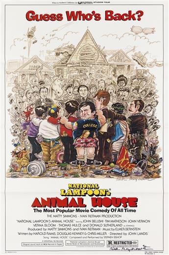 RICK MEYEROWITZ. (NATIONAL LAMPOON / FILM) Animal House.