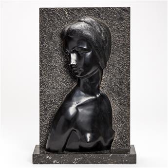 MALVINA HOFFMAN Female Bust.