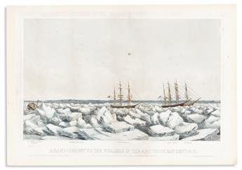 (COMMERCE & EXPANSION.) J.H. Buffords, lithographers. Set of 5 prints depicting the Abandonment of the Whalers in the Arctic Ocean,